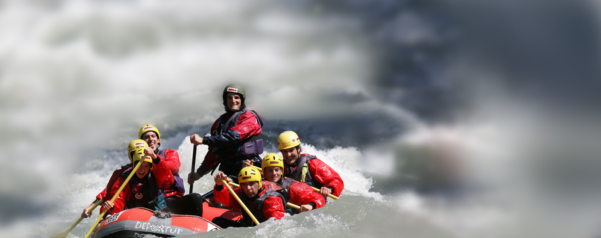 ¡Ven a hacer Rafting!
