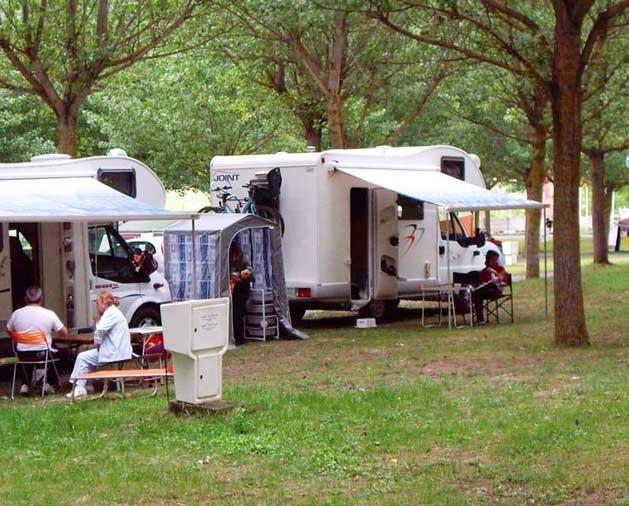 Parcela Camping Caravaning
