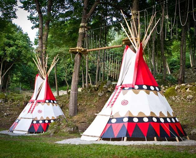Tipis (Solo campamentos)